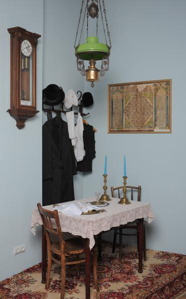 Inside traditional jewish home for Kosher home